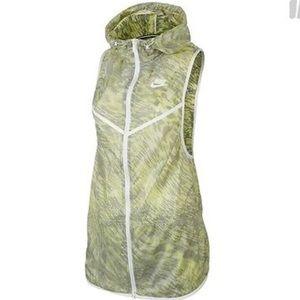 Nike Tech Hoodie Vest Sleeveless  Top NWT